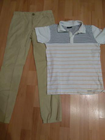 Koszulka polo, spodnie eleganckie, firmy coccodrillo roz. 152