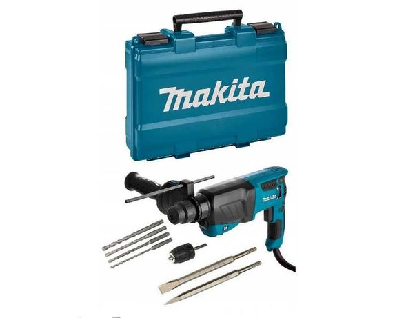 Makita Hr2630X7 Młotowiertarka Sds + Adapter