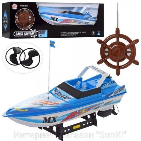 Радиоуправляемая игрушка Катер MX - 0006 Blue