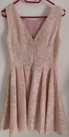 Sukienka różowa top secret 36