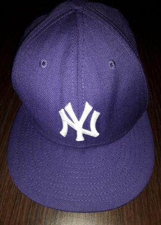 Czapka New Era - full cap - NEW YORK YANKEES - fioletowa - 54,9 cm