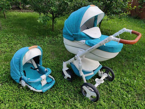 Детская универсальная коляска 2 в 1 Riko Brano