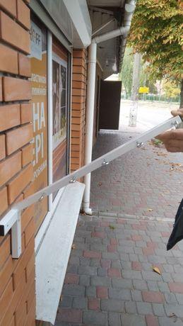 Сушилка металлическая для белья на балкон (под углом или прямая)