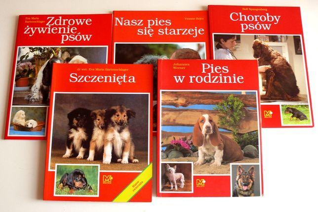 Hodowla psów, poradniki o psach, szczenięta, żywienie, choroby, zestaw