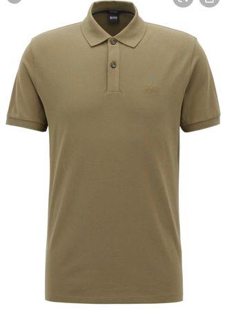 Мужская брендовая футболка Hugo Boss оригинал armani gucci guessXXL