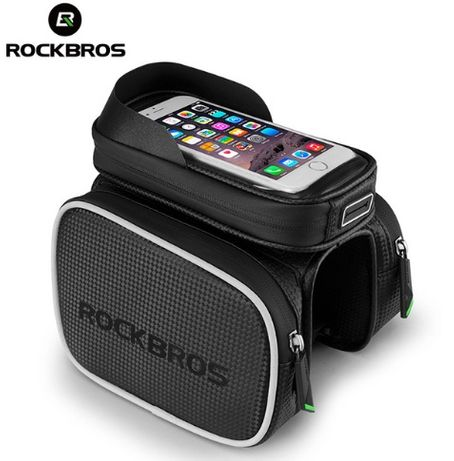 "Велосумка на раму с боками RockBros Satellite 6.2"" +КОЗЫРЕК вело сумка"