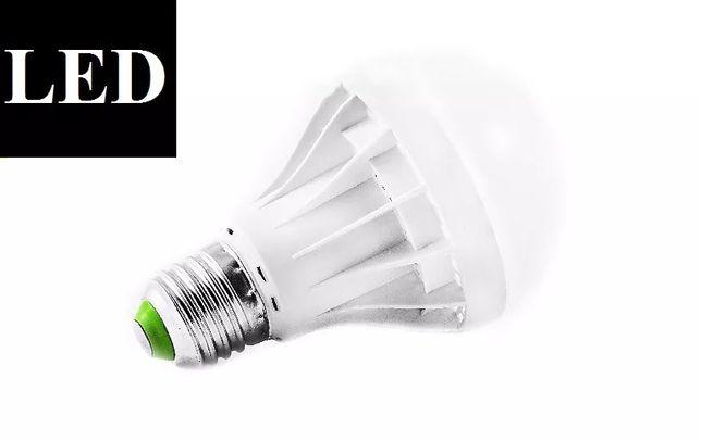 Żarówka LED E27 3W 5W 7W ciepła zimna barwa duży gwint HURTOWNIA