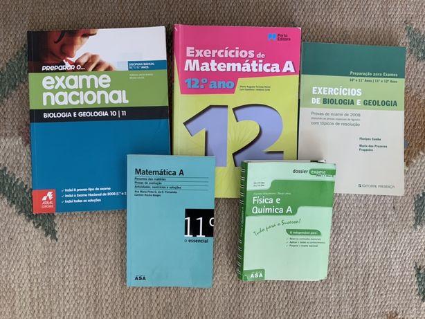 Livros auxiliares exames nacionais