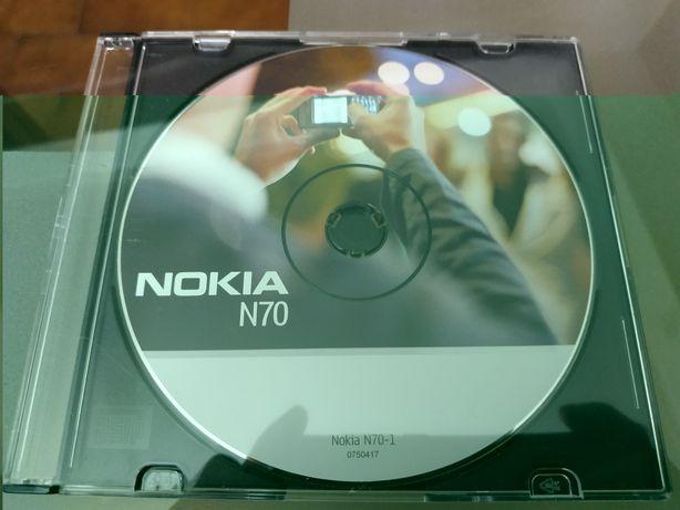 CD de instalação original Nokia N70