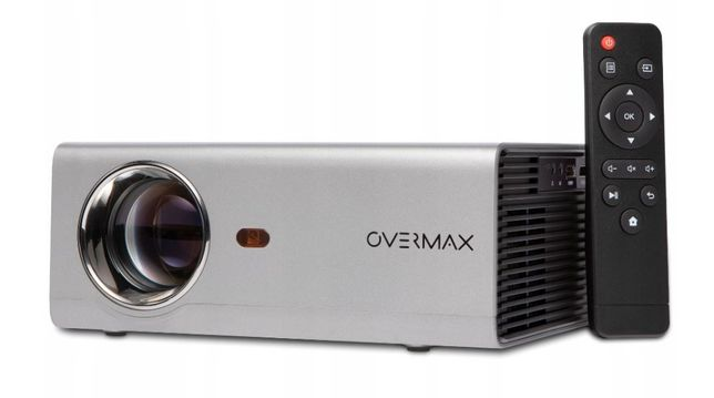 Nowy Rzutnik Projektor OVERMAX MULTIPIC 3.5 LED HD WiFi Kino Domowe FV