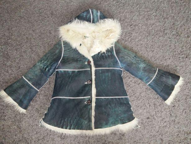 Дубльонка,пальто на дівчинку
