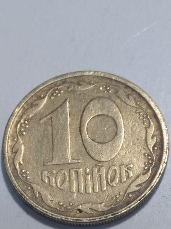 10 копеек 1994года, итальянка