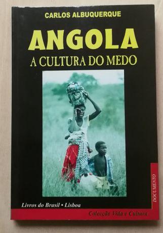 angola a cultura do medo, carlos albuquerque, livros do brasil