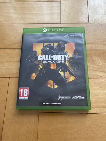 Call of duty black ops 4 xbox one na płycie