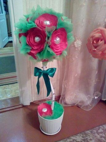 Квітковий вазон (ручна робота)