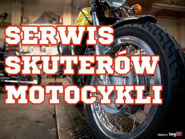 Naprawa Serwis Motocykli Skutery Quady transport pojazdu do/z serwisu