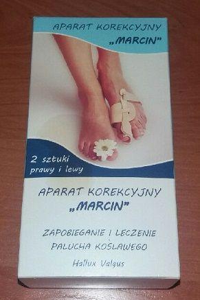 Aparat korekcyjny Marcin leczenie palucha koślawego 2 sztuki