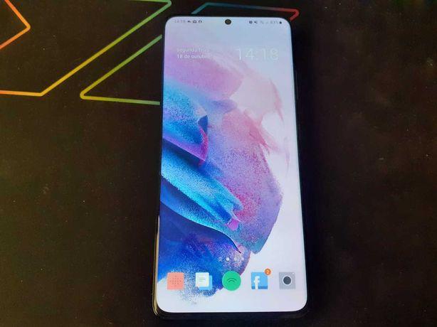 Samsung Galaxy S21 Ultra 5g 256GB + capa pele (c/ garantia)