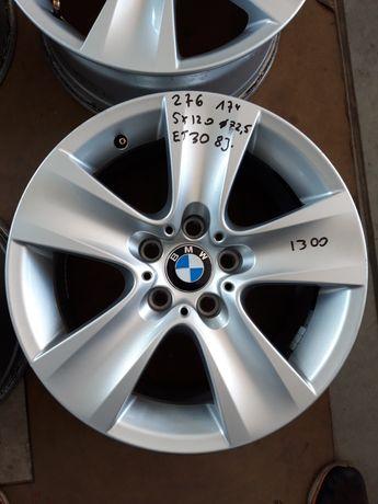 276 Felgi Aluminiowe ORYGINAŁ BMW R17 5x120 otwór 72.5mm BARDZO ŁADNE