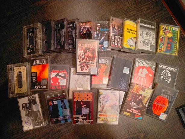 Kasety magnetofonowe - zestaw 20 kaset, 20 albumów.