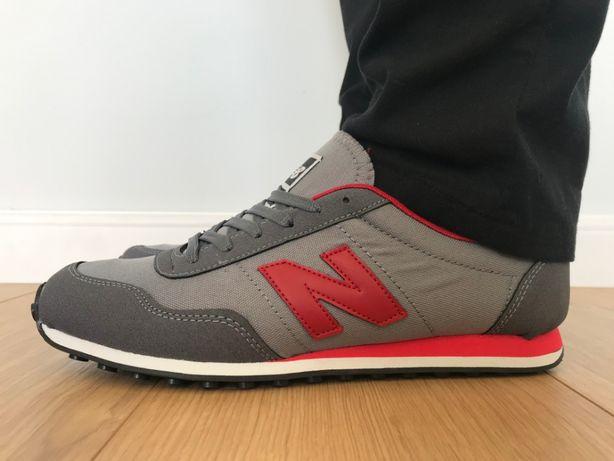 New Balance 410. Rozmiar 45. Szare - Czerwone. NOWOŚĆ!