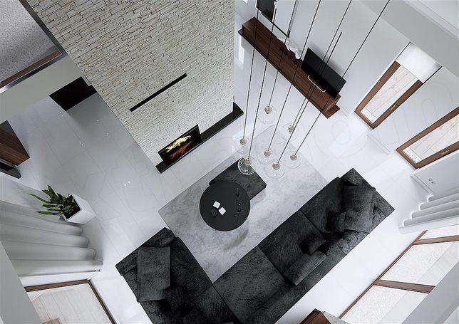 Projekt domu nowoczesnego HomeKONCEPT 13 L Olbrzymi salon 110 m2