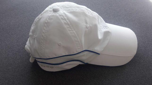czapka z daszkiem biała damska tenisowa ARTENGO
