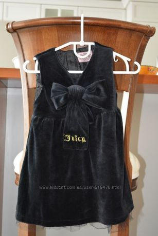Платье-сарафан для девочуи велюровое на 1,5-2,5 года.