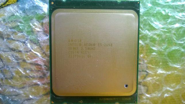 Процессор intel xeon e5 2640 (6 ядер)