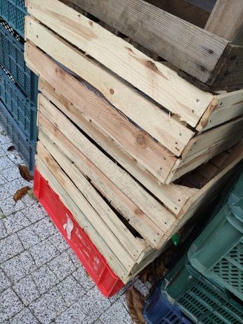 Skrzynki drewniane