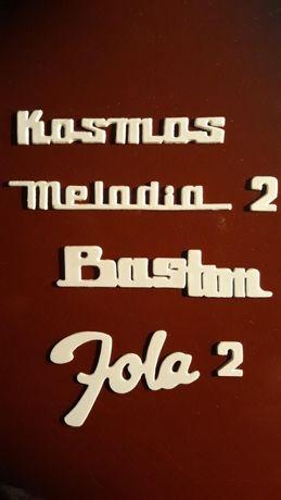 Logo Defil Kosmos, Melodia 2, Jola 1, Jola 2, Baston