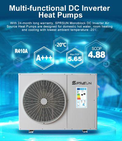 Pompa ciepła SPRSUN (panasonic) 9,5 KW, CGK-030v2, A+++