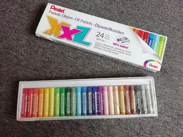 Pastele olejne 24 kolory kredki dla dzieci zabawki plastyka kolorowe