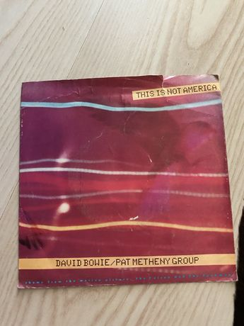 Single David Bowie/ Pat Metheny Group