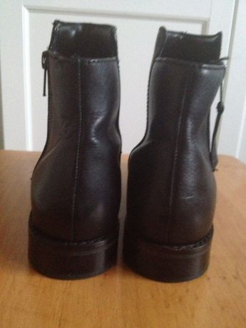 Botki Faith rozm. 37 skóra 24cm wkładka buty