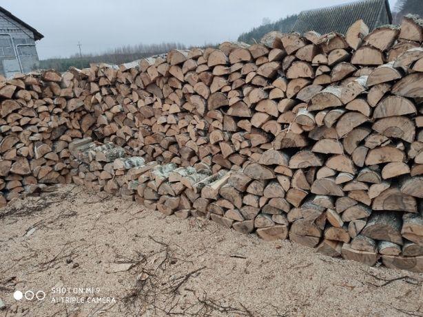 Drewno kominkowe opałowe brzoza dąb buk