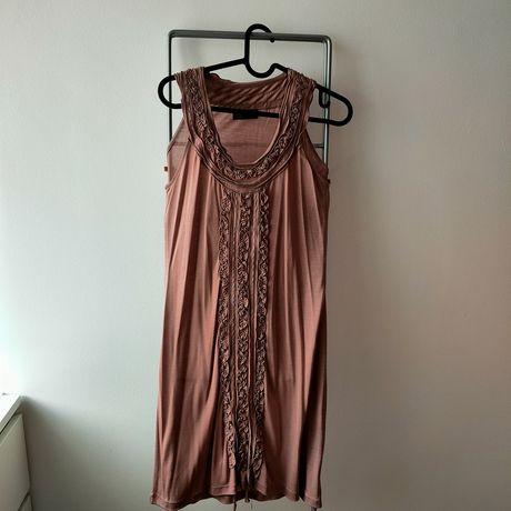 Vestido S Rosa blush Lanidor
