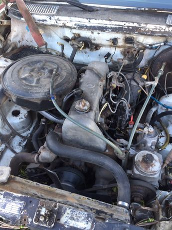 Двигатель Mercedes om616 2.4 123 126 уаз газель трактор