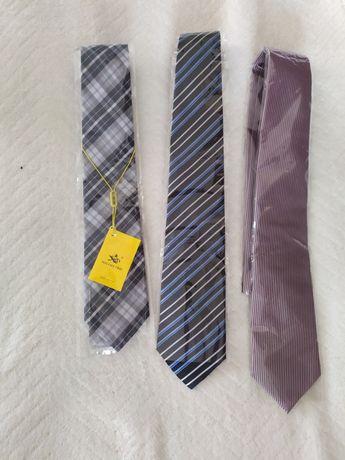 Krawaty męskie, nowe. Krawat.