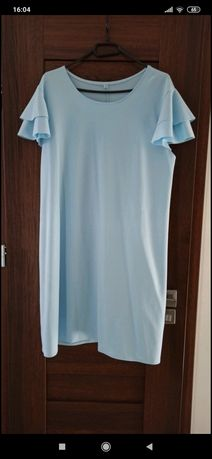 Sukienka letnia błękitna