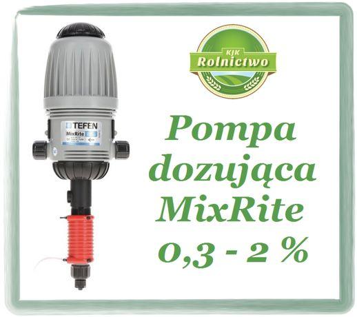 Pompa dozująca dla bydła, drobiu, trzody - DOZOWNIK MixRite 0,3 - 2 %