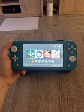Nintendo Switch lite + Satisfye grip + etui