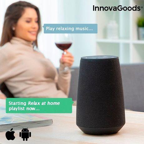 Coluna Bluetooth inteligente assistente de voz VASS - NOVO