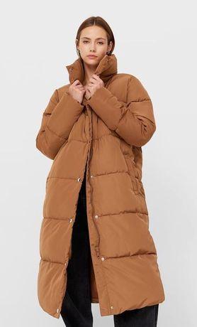 Зимняя удлиненная курточка Stradivarius, размеры S,M,L