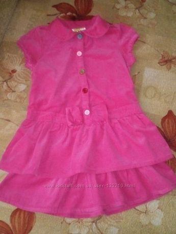 Платье crazy8 ткань микровельвет