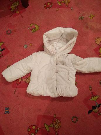 Куртка пуховик для маленькой модницы