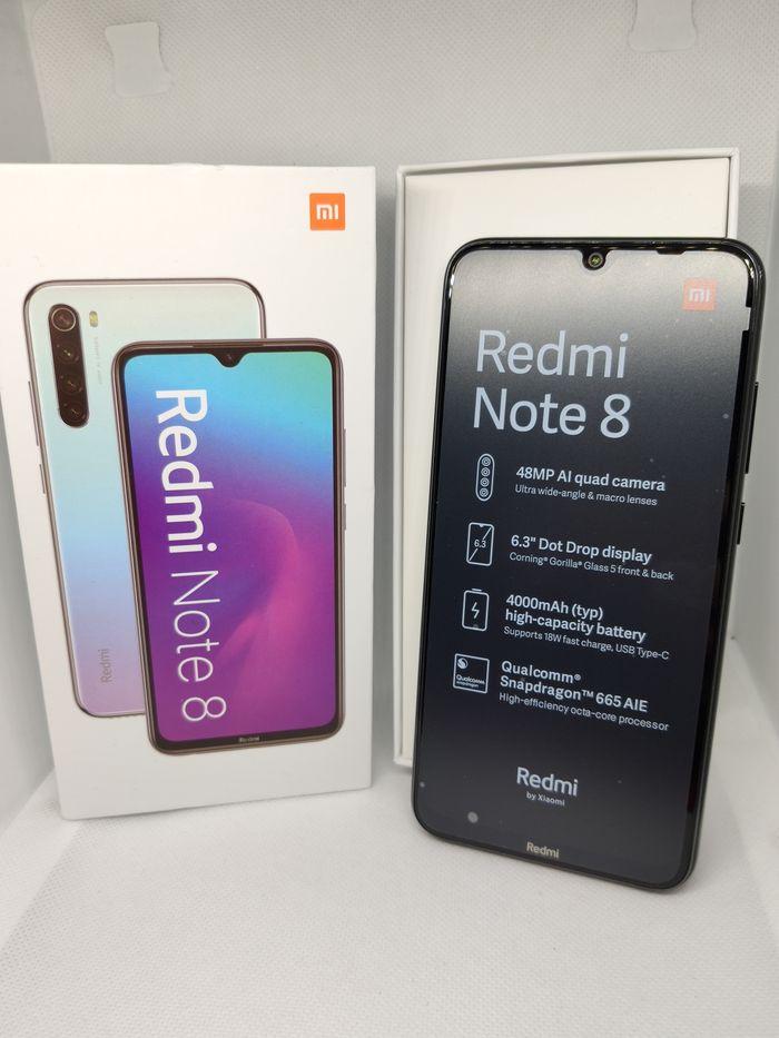Nowy Xiaomi Redmi Note 8 4/64 Global Black MIUI GWAR Gdańsk - image 1