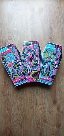 Zestaw puzzle 3 szt Monster High 150 elementów dla dzieci 3+