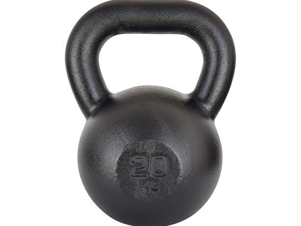Kettlebell żeliwny RAW 20 kg
