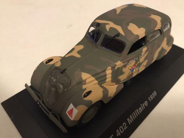 1/43 Peugeot 402 militaire carro de comando